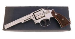 Smith & Wesson Nickel K-22 Model 17