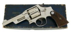 Smith & Wesson Nickel .38/44 Heavy Duty