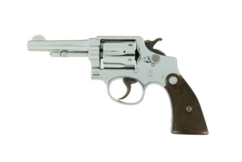 Smith & Wesson ORIGINAL FACTORY CHROME .38 M&P Model of 1905 4th Change