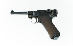 G Code S/42 Luger All Original & Matching Magazine