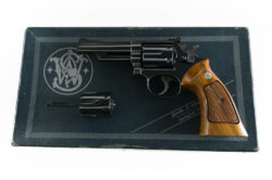 Smith & Wesson Model 53 .22 JET & .22 LR Scarce 4""