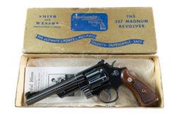 "Smith & Wesson Pre Model 27 6"" .357 Magnum"