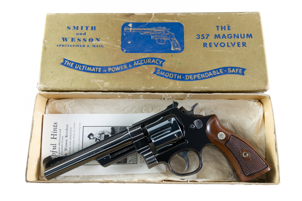 "Smith & Wesson Pre Model 27 6"" .357 Magnum"