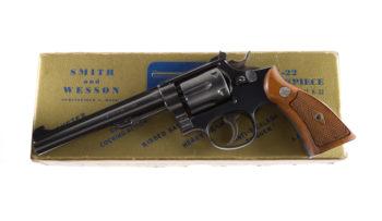 Smith & Wesson Pre Model 17 K-22 Masterpiece