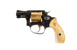 Smith & Wesson Pre Model 30 .32 S&W Engraved & Gold Inlaid