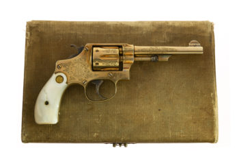 Smith & Wesson Model of 1903 .32 Hand Ejector FACTORY OSCAR YOUNG ENGRAVED