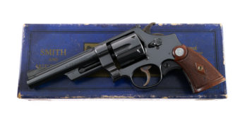 "ONLY KNOWN Smith & Wesson 5 1/2"" .357 Non Registered Magnum"