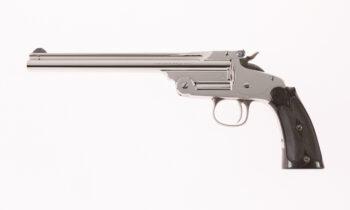"Smith & Wesson 1st Model Single Shot RARE 8"" Nickel"