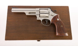 Smith & Wesson SUPER RARE 1st Year Production Nickel Model 57 .41 Magnum